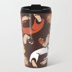 Super Yin Yang Metal Travel Mug