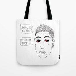 Justoned Tote Bag