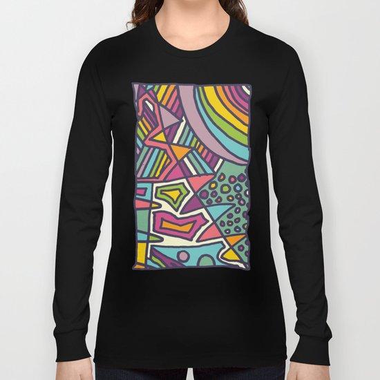 Colourful Chaos Long Sleeve T-shirt