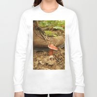 mushroom Long Sleeve T-shirts featuring Mushroom by JCalls Photography