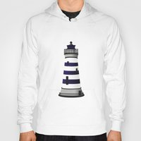 lighthouse Hoodies featuring LIGHTHOUSE by oslacrimale