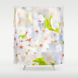 flower photography by Evelyn Shower Curtain