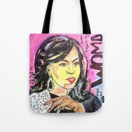 I am Woman: Michelle Obama Tote Bag