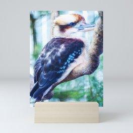 A Kookaburra Mini Art Print