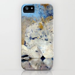 Tom Roberts In a Corner on the Macintyre iPhone Case