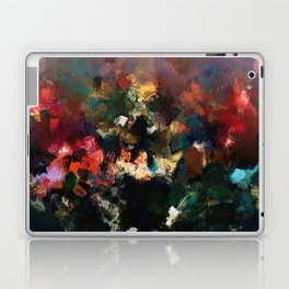 Emotional Abstract Artwork with Dark Colors Laptop & iPad Skin