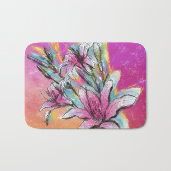 Colorful Spring mood Bath Mat