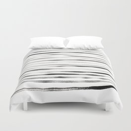Between the lines Duvet Cover