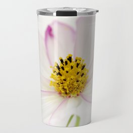 Sensation Cosmos White Bloom Travel Mug