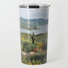 Arizona Blooms Travel Mug