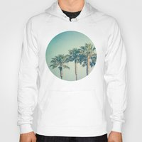 palms Hoodies featuring Palms by Laura Ruth