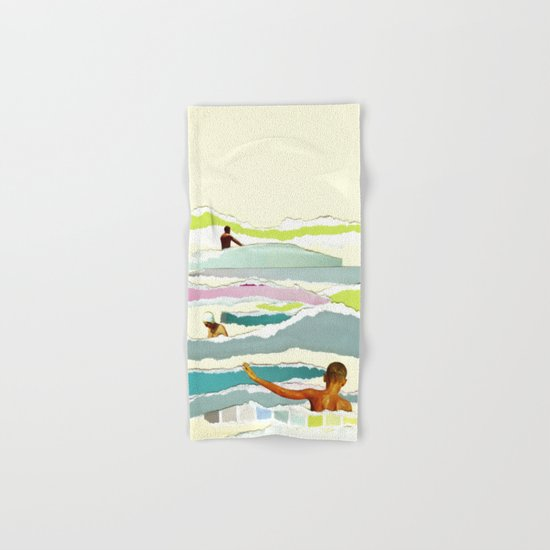 Sun and Surf Hand & Bath Towel
