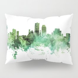 Knoxville Tennessee Skyline Pillow Sham