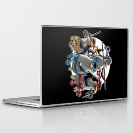 Ninja Penguins Laptop & iPad Skin