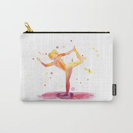Yoga Chakra Watercolor Painting Carry-All Pouch