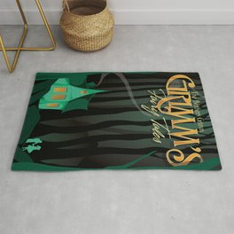 Grimm's Fairy Tales by The Brothers Grimm Rug