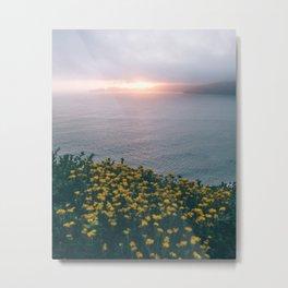 Shining Earth Metal Print