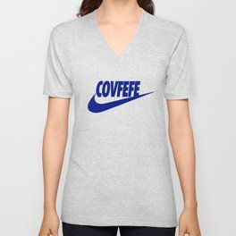 Covfefe [BLUE] Unisex V-Neck