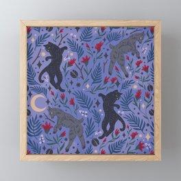 Wild Night Framed Mini Art Print