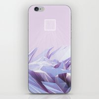 data iPhone & iPod Skins featuring Data Crystals by memoirnova