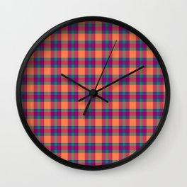 Nicki's Plaid Wall Clock