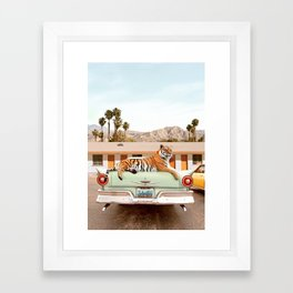 Tiger Motel Framed Art Print