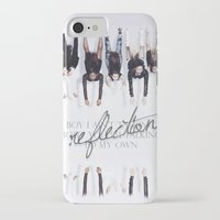 fifth harmony iPhone & iPod Cases featuring Reflection Harmony by Leticia