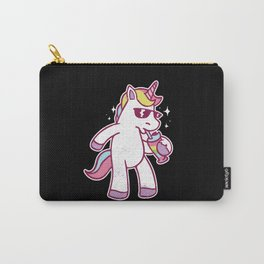 Party Unicorn Gift Unicorns Saying Carry-All Pouch