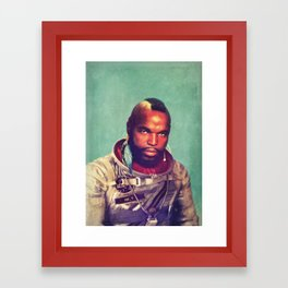 I ain't gettin on no rocket Framed Art Print