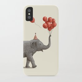 Party Elephant iPhone Case