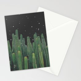 Starry Night Cactus Stationery Cards