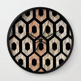Animal Print Pattern Wall Clock