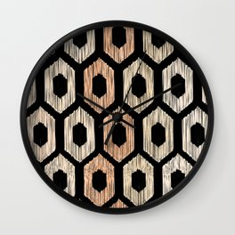 Animal Print Pattern Wall Clock
