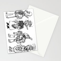 Birdheaded People Stationery Cards