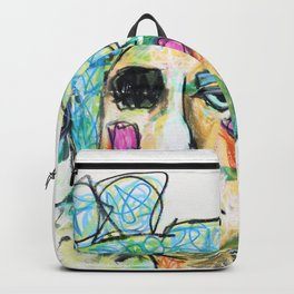 She emerged without fear Backpack