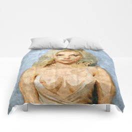 Scarlett Johansson fantasy nude artwork Comforters