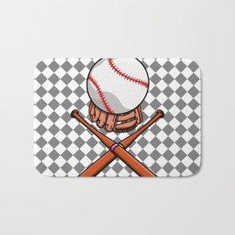 Baseball Bath Mat
