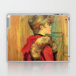 "Henri de Toulouse-Lautrec ""Girl in a Fur (Miss Jeanne Fountain)"" Laptop & iPad Skin"