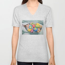 Marshmallow Cereal Unisex V-Neck