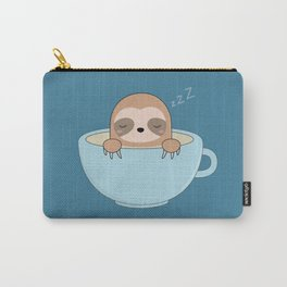 Cute Kawaii Baby Sloth Carry-All Pouch