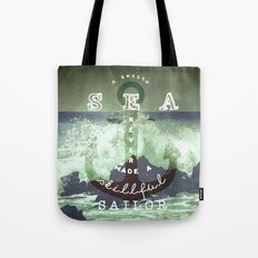 THE SAILOR QUOTE Tote Bag