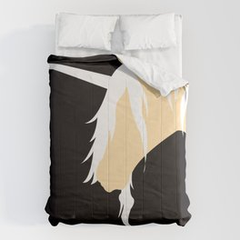 The Last Unicorn (inspired art) Comforters