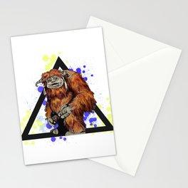 Ludo Triangle Stationery Cards