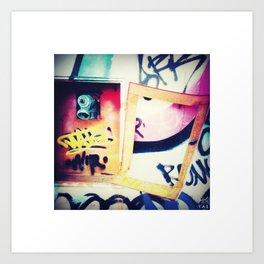 hydrant & open flip  Art Print
