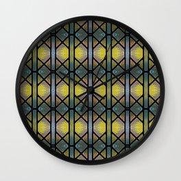 Windowpaned series, #3 Wall Clock