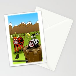 capricious nature Stationery Cards