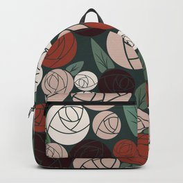 Roses in Winter Backpack