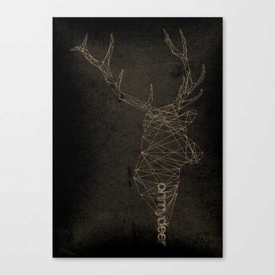 Oh my deer Canvas Print