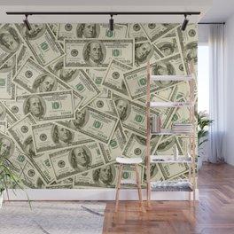 100 dollar bills Wall Mural