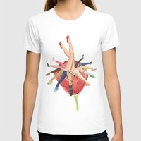 shoe T-shirts featuring Shoe Love by Wendy Ding: Illustration